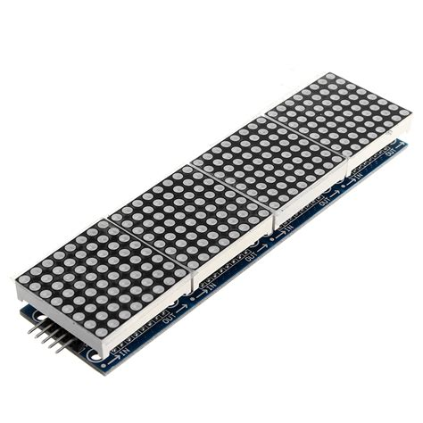 Max7219 4 In 1 Dot Matrix Module 3pcs max7219 dot matrix module 4 in 1 display for arduino