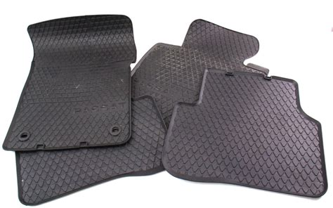 Passat Mats by Rubber All Weather Floor Mats 06 10 Vw Passat B6 Genuine