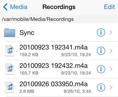 Voice Memos The Iphone Faq by Where Are Voice Memos Saved On The Iphone The Iphone Faq