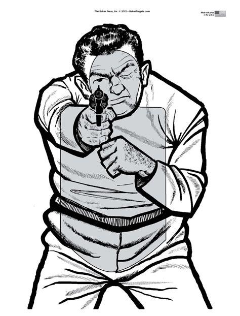 printable bad guy targets i need siluet targets for printing glocks