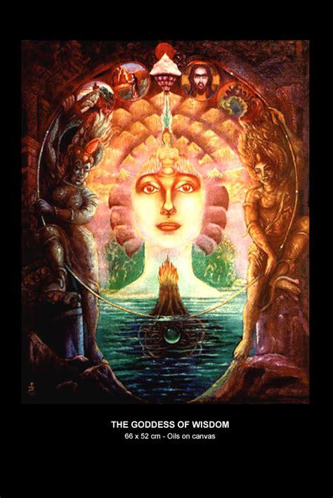 goddess of wisdom jean