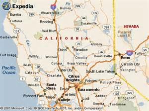 where is oroville california on a map oroville ca