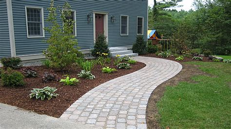 paver walkway patterns curved brick paver walkway