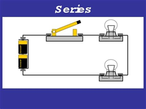 series circuit design this is an original powerpoint animation that demonstrates