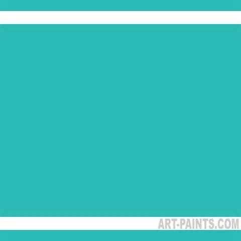 aqua green color aqua green light flow acrylic paints astm 1 s2 f s