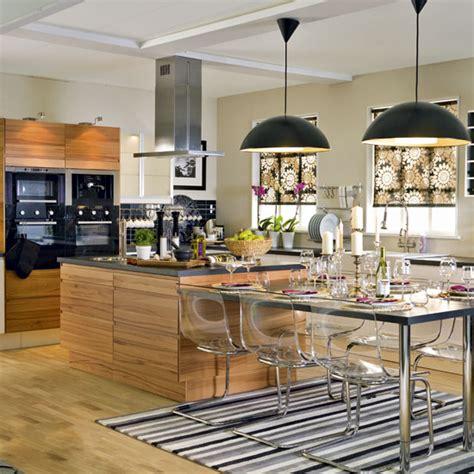glamorous multifunctional family kitchen family kitchen glamorous kitchen diner open plan kitchens modern