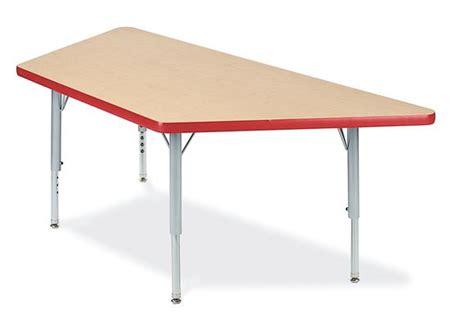 30 quot x 30 quot x 60 quot trapezoid 4000 series preschool table
