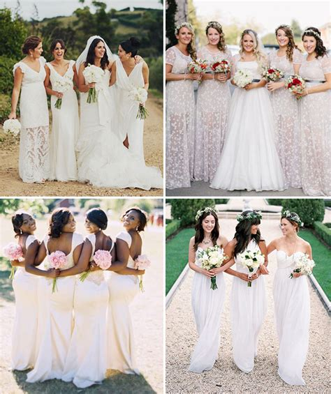 White Bridesmaid Dress by A Big Statement White Bridesmaids Dresses Onefabday
