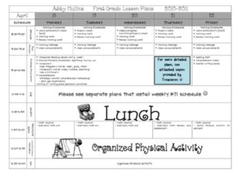 This Is A Completely Customizable Lesson Plan Template