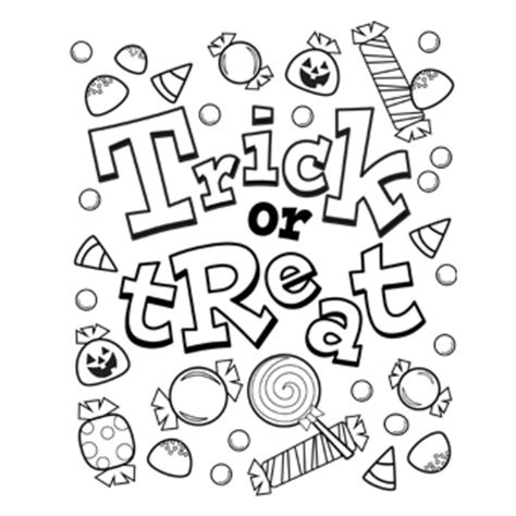 blank coloring pages for halloween coloring pages for free