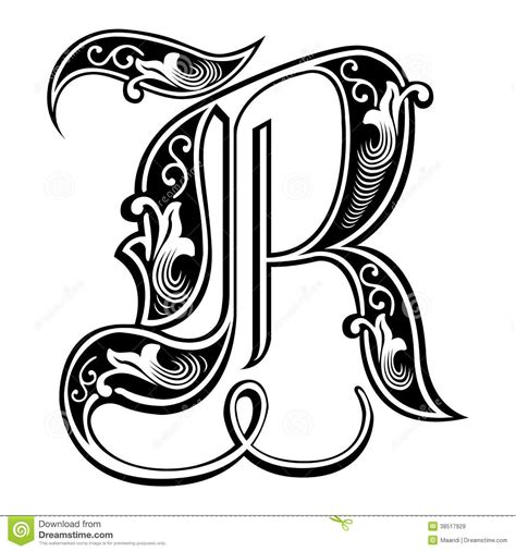 How To Design A Custom Font Letter R letter r in different fonts letters