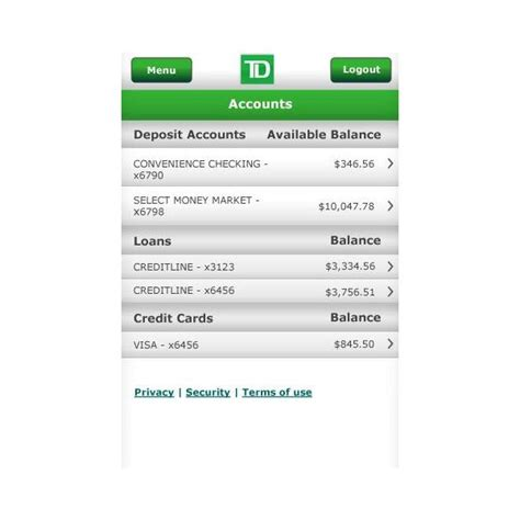 td bank check deposit app the best android banking apps
