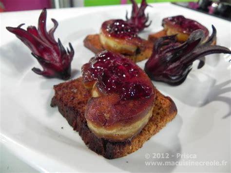 cuisine antillaise cuisine antillaise foie gras groseilles pays 2 douceurs
