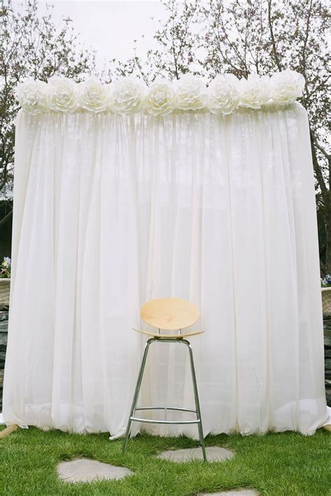 Easy Wedding Backdrop by 17 Best Images About Backdrop Photobooth Photocall On