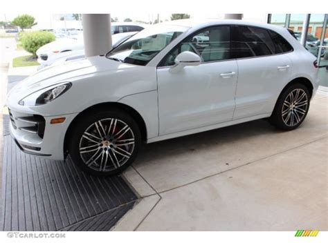 porsche macan 2016 white 2016 carrara white metallic porsche macan turbo 108083541