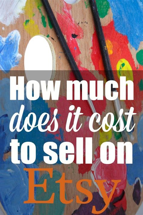 how much does it cost to sell a house how much does it cost to sell on etsy acrylic pouring