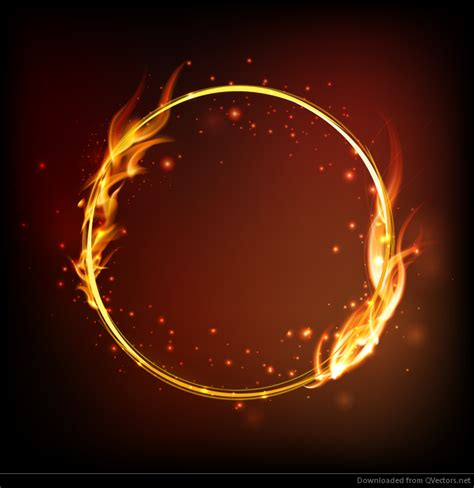 fire ring vector download