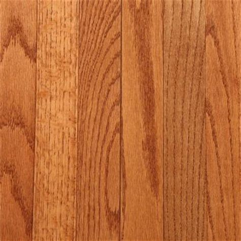 bruce gunstock oak 3 4 in thick x 2 1 4 in wide x random