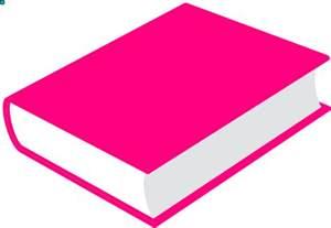 pink book clip art at clker com vector clip art online