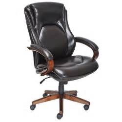 Chocolate Brown Desk Chair Big Bonded Leather Executive Chair Chocolate