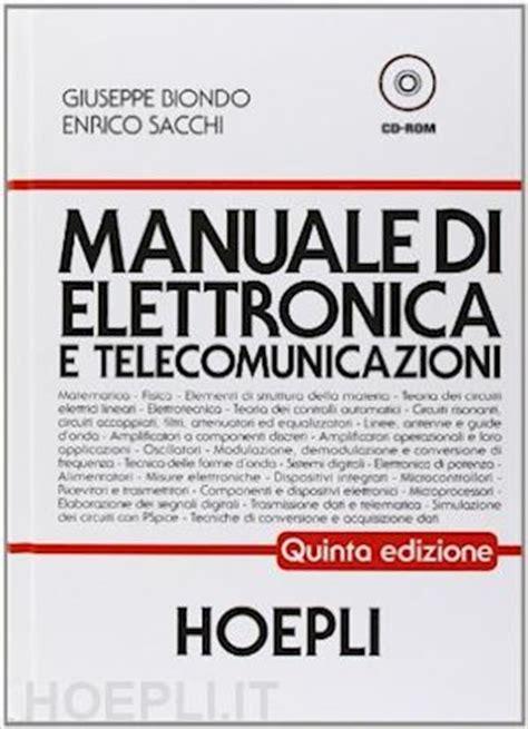 libreria elettronica manuale di elettronica e telecomunicazioni biondo