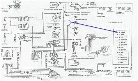 1966 mustang dash wiring diagram get free image