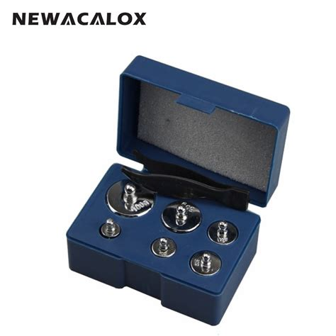 Best Seller 10 Mg 100 Gram Calibration Silver Chrome Weight Balance newacalox 6pcs set calibration 200g grams precision calibration jewelry scale weights correction