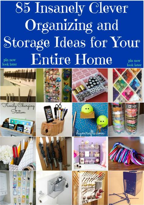 Clever Diy Home Ideas 85 Insanely Clever Organizing And Storage Ideas For Your