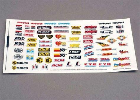 Rc Sponsoren Aufkleber by Traxxas 2514 Sponsor Aufkleber Set Online Bestellen Und Kaufen