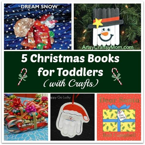 christmas crafts with used books 5 books for toddlers with crafts artsy craftsy