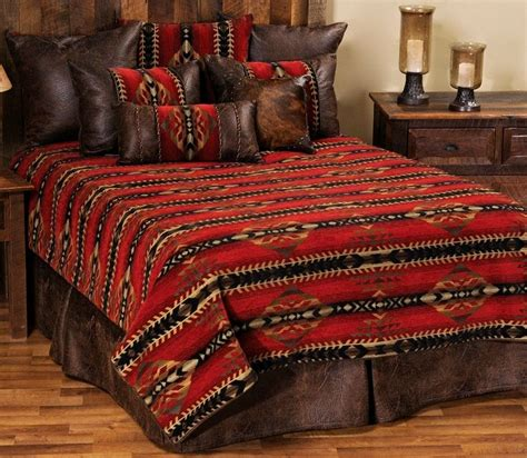 southwest comforters and bedspreads gallop deluxe southwest bedding ensemble set wd 2088