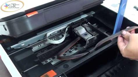 how to reset canon mg2570 printer reset canon mp250 youtube instalacion sistema de tinta