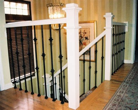 Metal Stair Spindles Iron Balusters Stair Rail Design