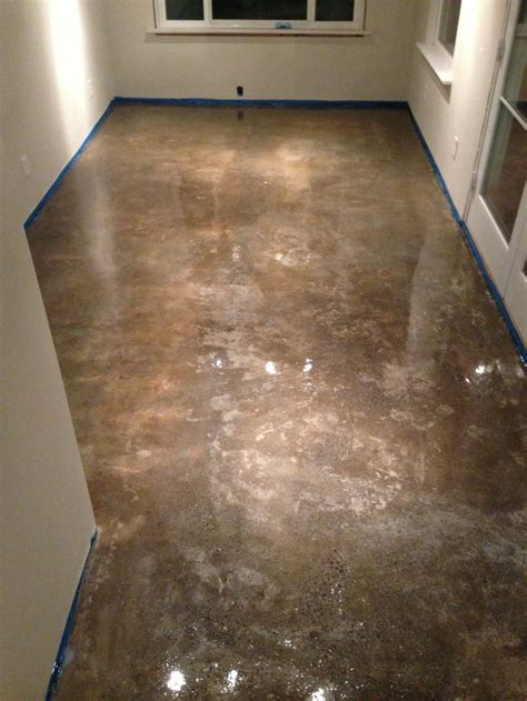 Refinish Concrete Floor by 37 Best Images About Concrete Floors On Stains