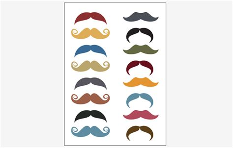 How To Make Paper Mustaches - paper sheet labels printing roll labels australia