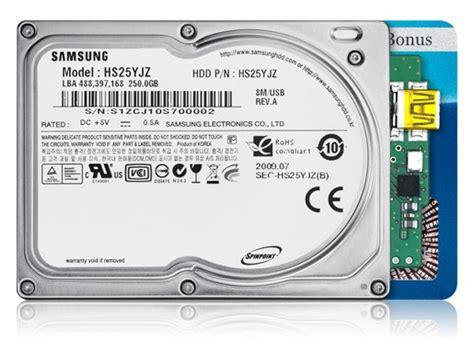 Hardisk Samsung 200gb samsung adds new 250gb 1 8 inch hdd with usb