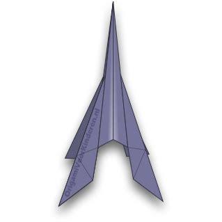 Raket Or raket 1 makkelijk origami voor kinderen