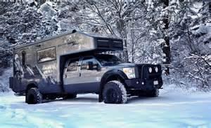 Ford Earthroamer Earthroamer Turns Ford Trucks Into Road Cers Cool