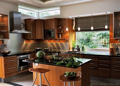 modern wood kitchen design modern kitchen designs gallery of pictures and ideas