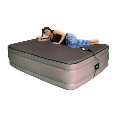 smart air beds bd 9122gtmf raised memory foam air bed with airtek comfort