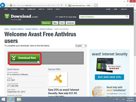 avast antivirus free download 2013 full version cnet how to install avast free antivirus windows 8 1 10 guides