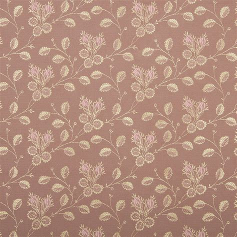 brocade upholstery fabric 54 quot quot wide d142 gold and pink floral brocade upholstery