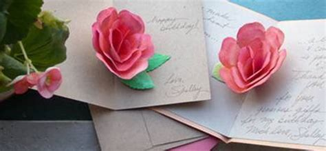 diy flower card template flower flower pop up card template