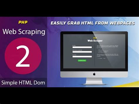 tutorial on web scraping tutorial 2 simple htlm dom web scraping data php exle