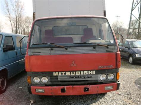mitsubishi van 1988 mitsubishi canter 1988 box truck photo and specs