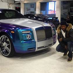 50 cent new car 50 cent net worth of 150 million gets twisted with his