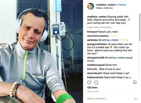 Takes Another At Rehab by Billionaire Matthew Mellon Died After Taking