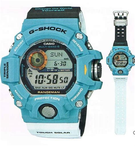 Gshock Rangeman The Sea And The Earth Gw 9403kj 9 Original g shock gw 9402kj 2jr rangeman the sea and the earth 2016 earthwatch limited edition g