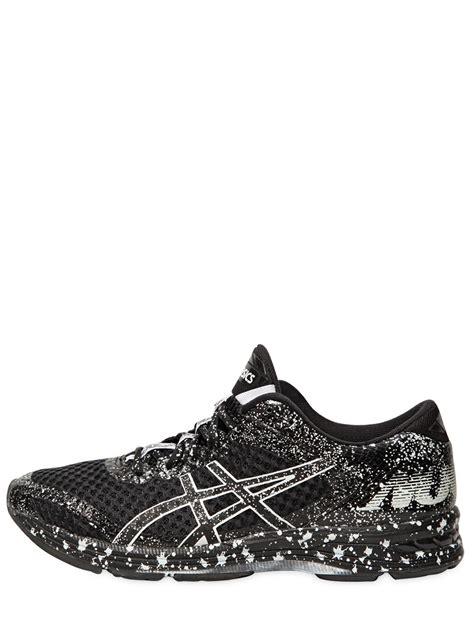black asics sneakers lyst asics gel noosa tri 11 running sneakers in black
