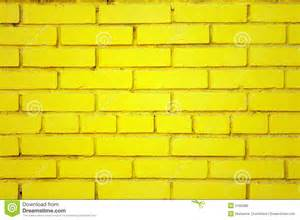 Row House Design Old Yellow Brick Wall Royalty Free Stock Images Image